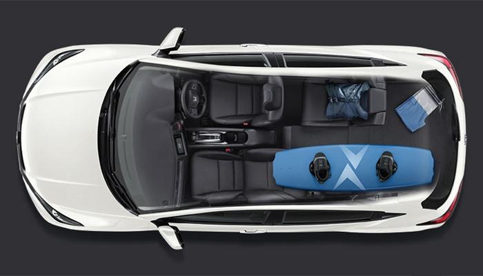 Điểm mạnh nhất của Honda HRV nằm ở hàng ghế thứ hai