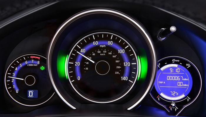 Bảng đồng hồ này có thể hiển thị mức tiêu thụ nhiên liệu