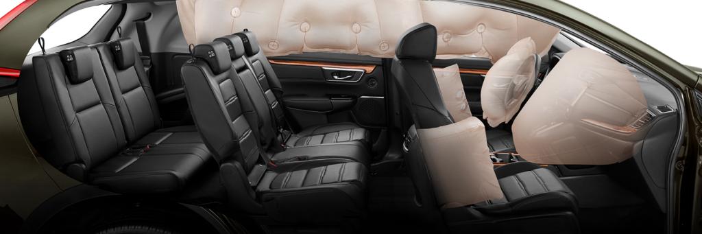 Công nghệ an toàn Honda CRV 2019 7 chỗ