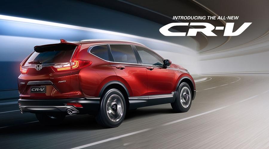 Honda CR V top 6 dòng xe bán chạy nhất