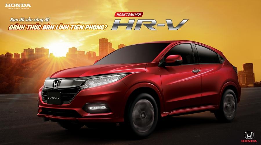 Honda HR-V với phong cách trẻ trung và thời thượng