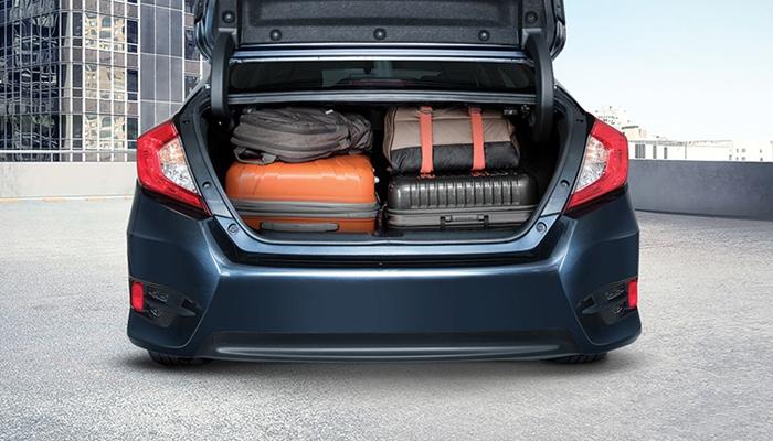 Khoang hành lý cỡ lớn, dung tích 519L
