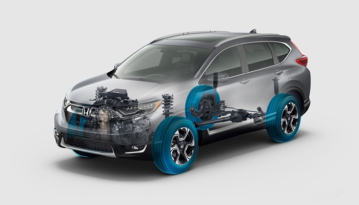Khung gầm, hệ thống treo, giảm xóc và cách âm của xe được nâng cấp hoàn thiện