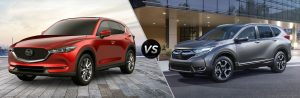 So sánh xe Honda CR-V 2019 và Mazda CX-5 2019