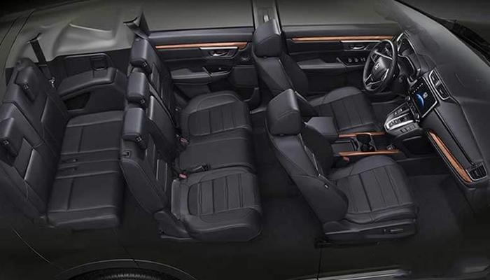 Về không gian Honda CR V