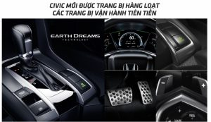 vận hành và trang vị trên Honda Civic