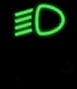 Đèn báo bật đèn chiếu gần