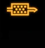 Đèn cảnh báo bộ lọc hạt diesel