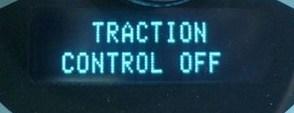 Đèn cảnh báo hệ thống chống trượt đang tắt
