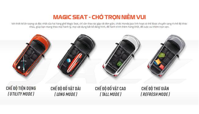 Bộ ghế ma thuật Magic Seat