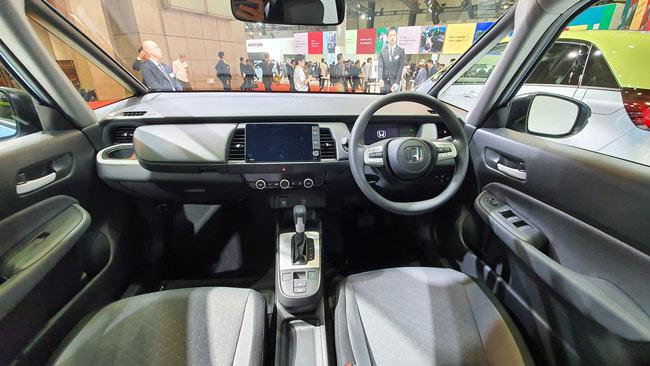 Khoang lái Honda Jazz 2020