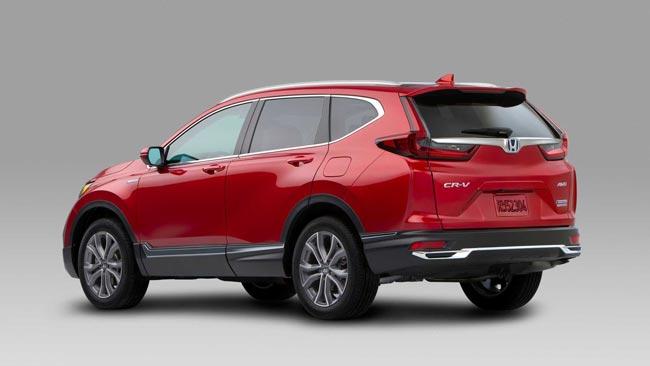 Phần đuôi Honda Crv 2020
