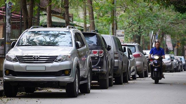 Quy định về việc dừng đỗ xe