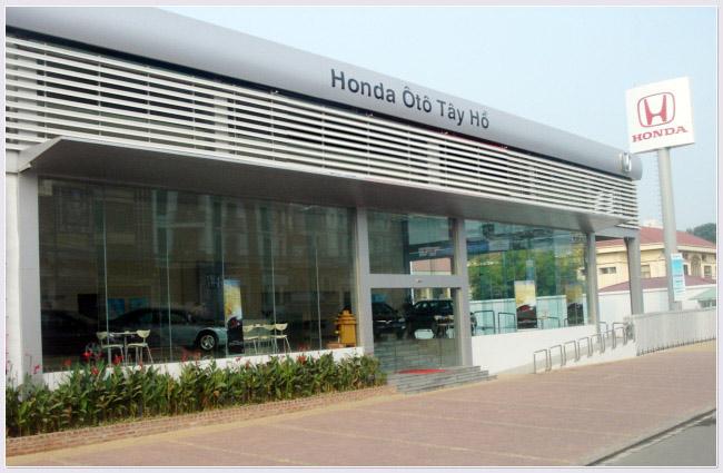 Đại lý Honda ôtô Tây Hồ