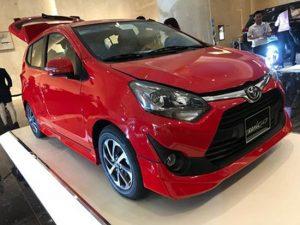 Ngoại thất Toyota Wigo 2020