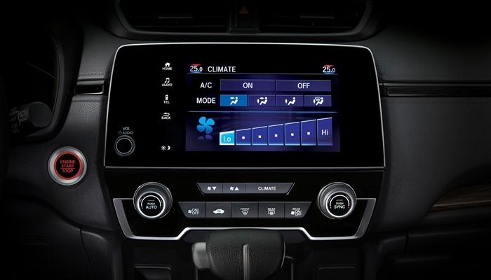 Hệ thông điều hòa điều chỉnh bằng màn hình cảm ứng