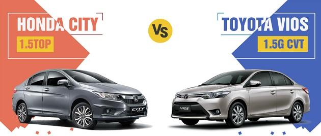 Honda city vs Toyota Vios
