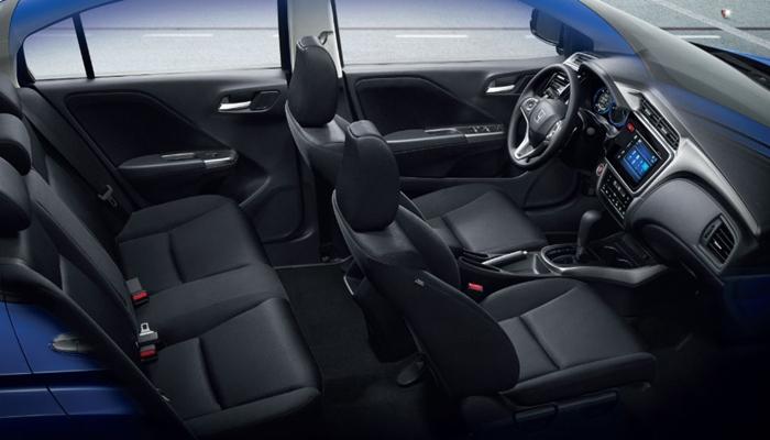 Thiết kế nội thất xe Honda City