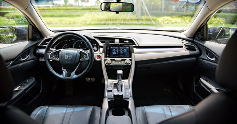 Nội thất Honda Civic 2019