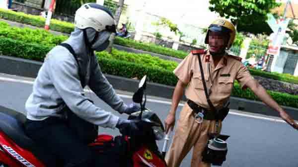 Quy định về vi phạm tốc độ đối với xe máy, mô tô