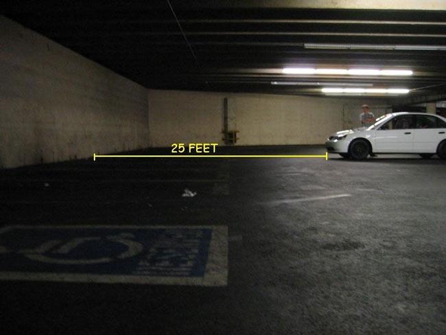 Chọn vị trí kiểm tra đèn pha