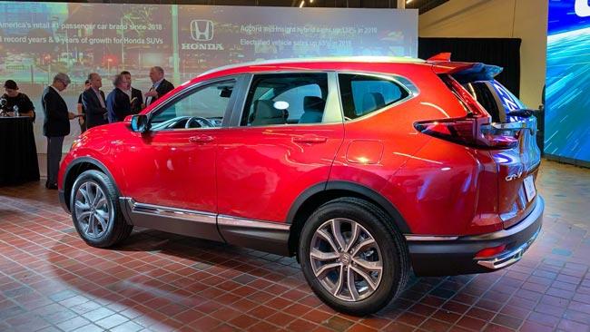 Thân xe Honda CR-V 2021