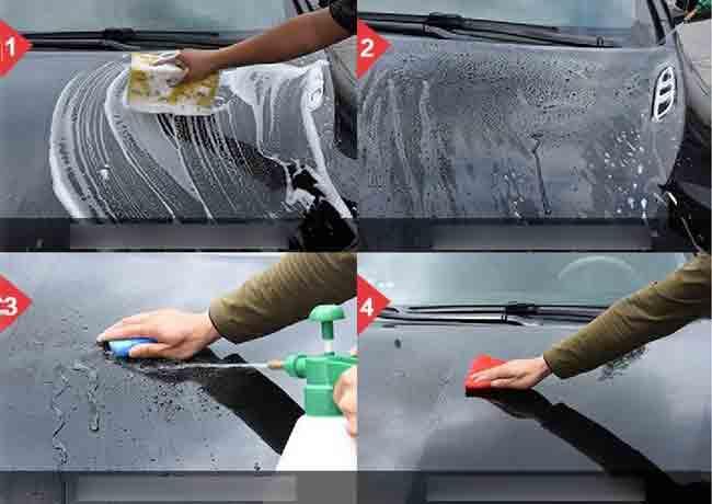 Hướng dẫn cách phủ nano lên kinh xe hơi