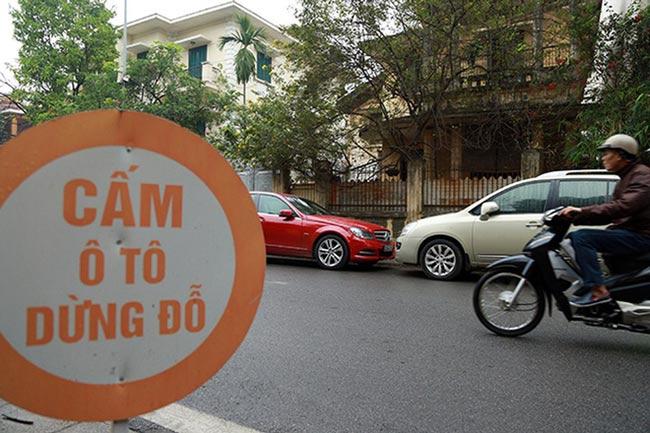 Quy định về nơi cấm dừng xe và đỗ xe