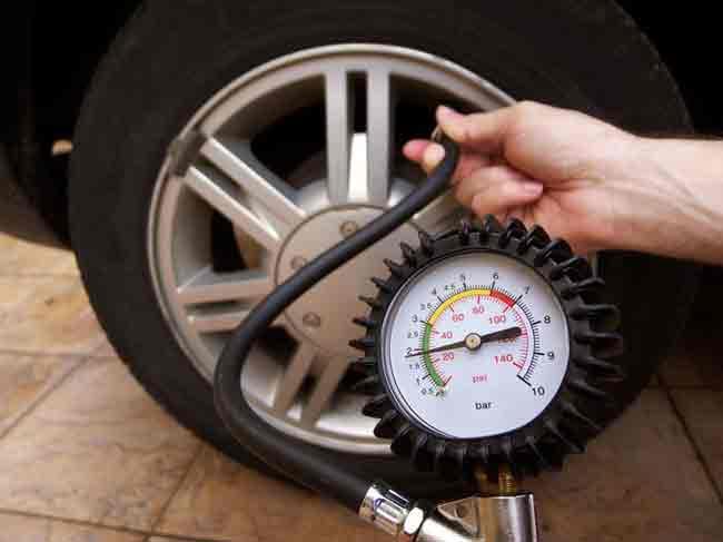 Bơm lốp đúng áp suất chuẩn