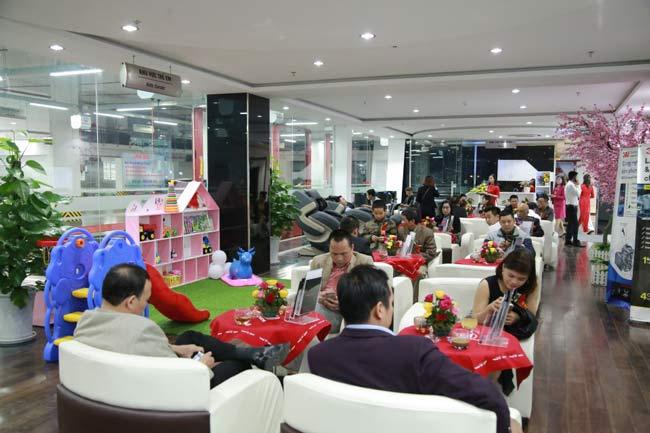 Phòng chờ dịch vụ tại Honda ô tô Thái Nguyên