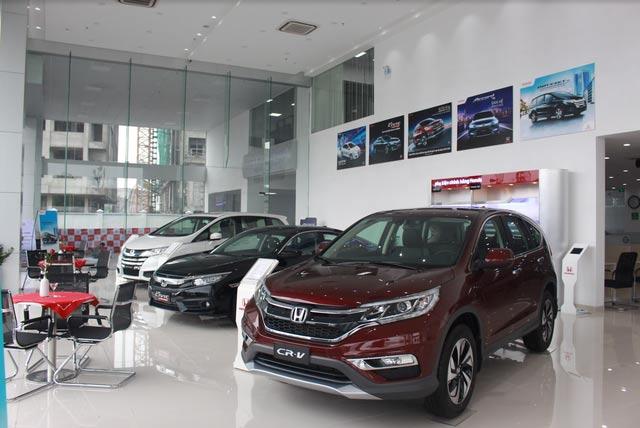Showroom Honda ô tô Bắc Ninh