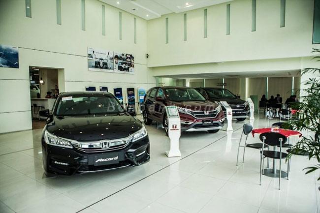 Showroom Honda ô tô Vinh