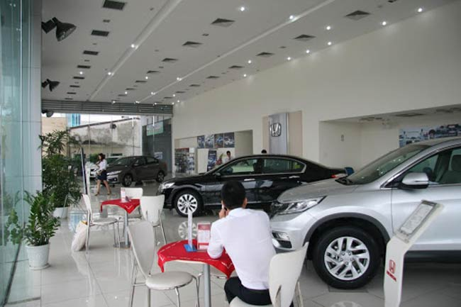 Showroom Honda Long Biên