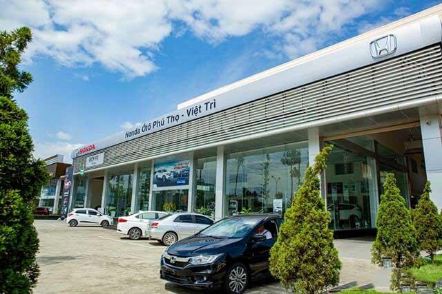 Đại lý Honda ô tô Việt Trì Phú Thọ