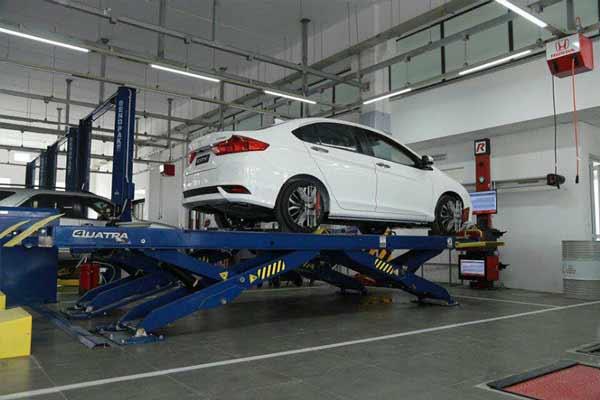Khu vực sửa chữa Honda Lào Cai