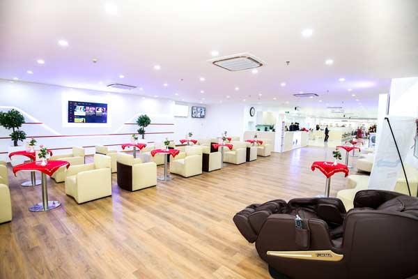 Phòng chờ dịch vụ tại Honda ô tô Bắc Giang