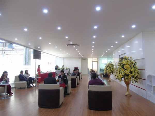 Phòng chờ khách hàng Honda Ôtô Vĩnh Phúc