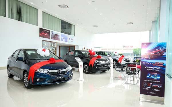 Showroom Honda ô tô Bắc Giang