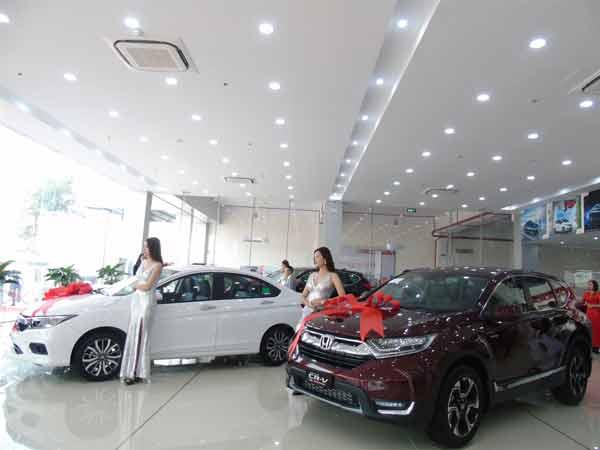 Showroom Honda ô tô Vĩnh Phúc