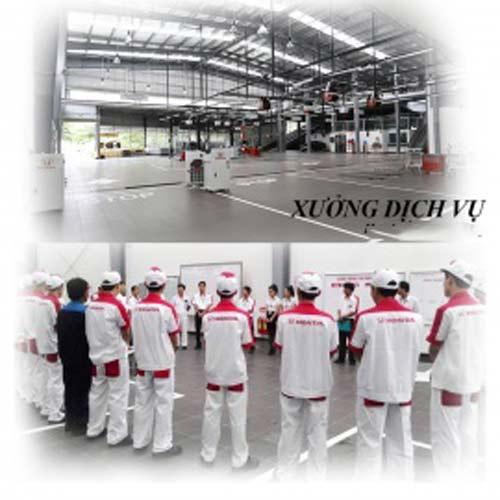 Xưởng dịch vụ Honda ô tô Bắc Giang