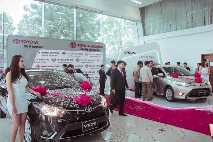 Đại Lý Toyota Hà Đông