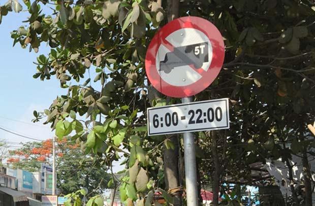 Các khung giờ cấm xe tải trọng lớn tại Hà Nội