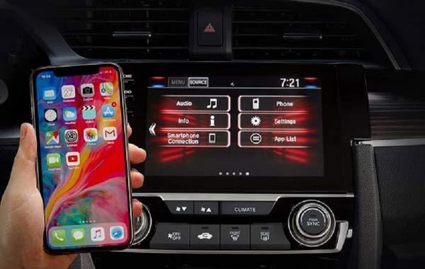 Hệ thống tiện nghi hiện đại Honda Civic 2020