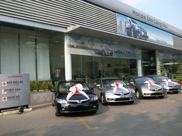 Honda ô tô Cộng Hòa Tân Bình Hồ Chí Minh