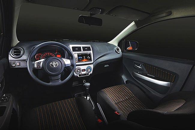 Nội thất Toyota Wigo 2020