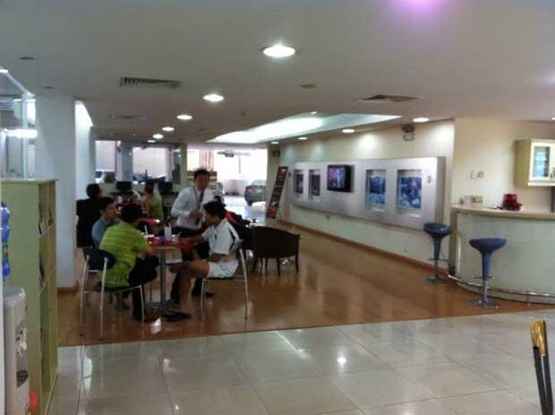 Phòng chờ dịch vụ