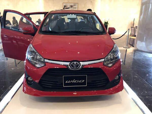 Phần đầu xe Toyota Wigo 2020