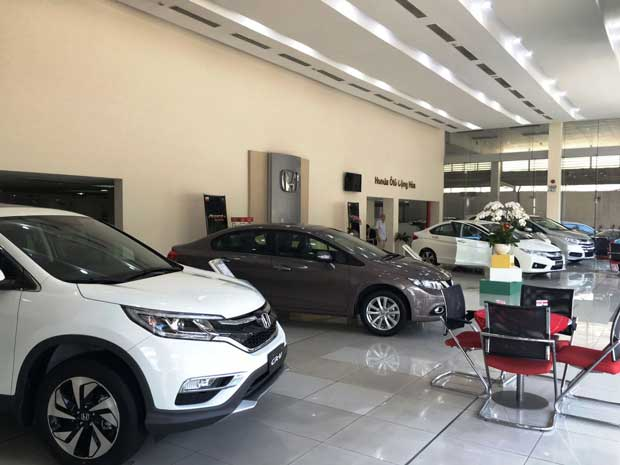 ShowRoom Honda ô tô Cộng Hòa