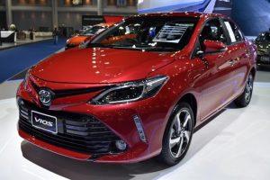 Thiết kế phần đầu Toyota Vios 2020