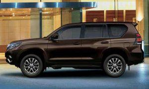Thiết kế phần thân xe Land Cruiser Prado 2020